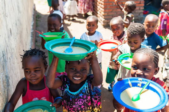 help2kids Malawi, Education Project: Food Program at Tiyanjane Nursery School